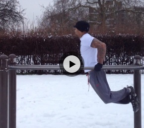// NRGFUEL - Team Lean // Park work out - Dips